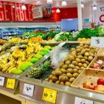 オーストラリアのスーパーマーケットの店内の様子