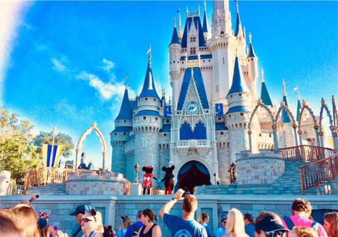 WDWのお城の写真