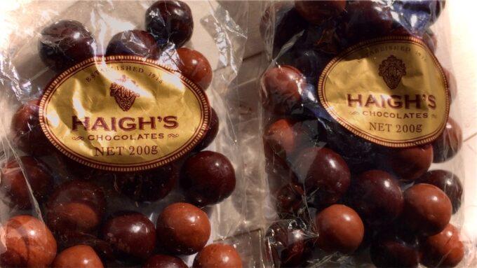 ヘーグスのチョコレート