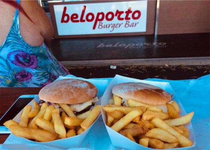 beloportoのハンバーガー