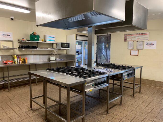 アウトバックパイオニアロッジのキッチン