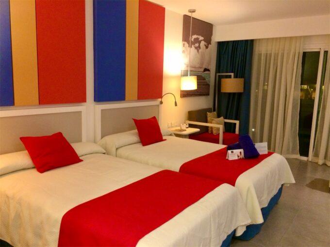 バラデロのホテル内装