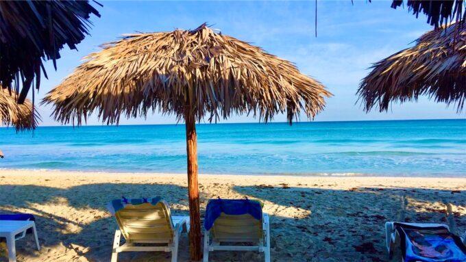 バラデロのビーチ