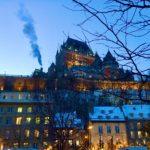 ケベックの夜景