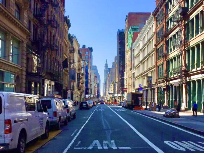 sohoの路地の写真