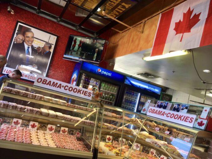 オバマ大統領が来店したクッキー屋さん
