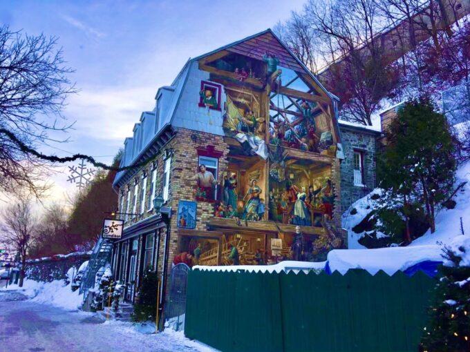 プチシャンプラン通りの壁画